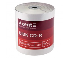Диск CD-R Axent 700 MB 80 min 52X 100 штук (8101-A)