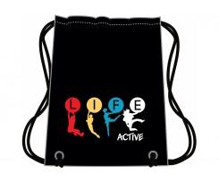 Сумка для взуття Cool for school Active Life 40x33 см чорний (CF85719)