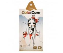 Набір з 13-ти олівців Marco ColorCore 4 мм асорті (3100-12СВ)