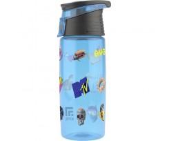 Пляшечка для води Kite MTV, 550 мл, тритан, блакитна (MTV20-401)