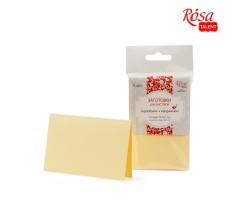 Набір заготовок для листівок ROSA TALENT 5 шт 103х70 мм №8 ванільний 220 г/м2 (940991308)