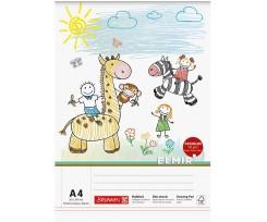 Альбом для малювання Brunnen А4 75 аркушів білий (10 474 08 02)