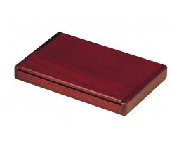 Дерев'яний футляр для візиток Bestar складний, червоне дерево (1316WDM)