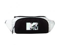 Сумка-бананка Kite MTV 51x17x4.5 см 5.5 л чорно-біла (MTV21-2562)