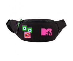 Сумка-бананка Kite MTV 36x14x7 см 2 л чорна (MTV21-2564)