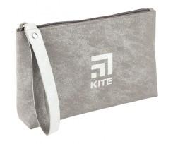 Косметичка Kite з ручкою 26x13x6.5 см 1 відділення сірий (K20-609-2)
