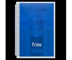 Зошит Buromax PRIME, на пружині, А5, 96 аркушів, клітка, синій (BM.24551101-02)