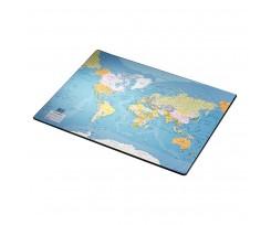 Підкладка на стіл Esselte мапа світу 40х53 см асорті (32184)