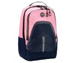 Рюкзак молодіжний Cool For School 45x30x13 см 16-25 л синій-рожевий (CF86740-02)