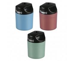 Точилка Axent з контейнером, пластикова, кругла, асорті (1153-a)
