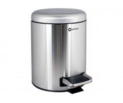 Відро для сміття Optima з педаллю, 28х21 см, 5 л, матова (O36350)