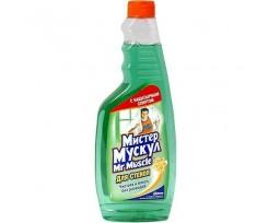 Засіб чистячий для скла Містер Мускул 500 мл зелений (w.00160)