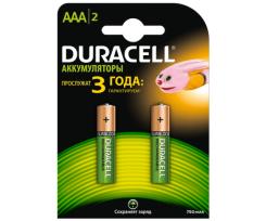 Акумулятор AAA Duracell 750 mAh 2шт. (s.38769)