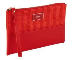 Косметичка з ручкою Kite 22x15x1 см 1 відділення червоний (K20-762-1)