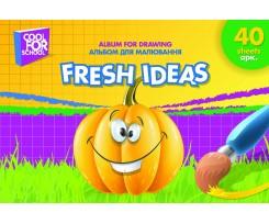Альбом для малювання Cool for School Animals А4 40 аркушів (CF60904)