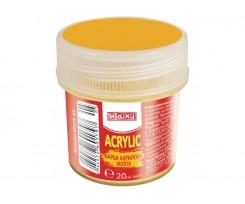 Акрил Maxi для декору 20 мл жовтий (MX60179-05)