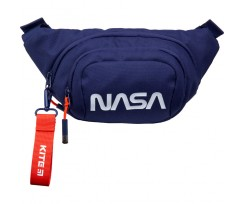 Сумка-бананка Kite NASA 30х12х5 см 2.5 л синя (NS21-1007-1)
