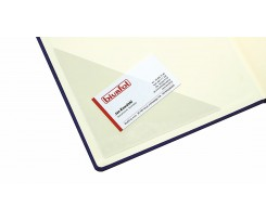 Трикутний самоклейний карман Biurfol 100x100, PVC, прозорий (KS-05-01)