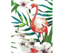 """Набір-стандарт, акриловий живопис за номерами ROSA START """"Тропічна птаха"""", (N0001388)"""