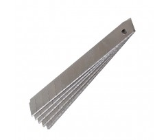 Леза для канцелярських ножів Axent 10шт, 9мм (6801-a)