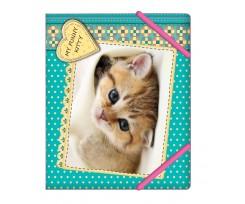 "Папка для зошитів  В5 Cool for School ""My funny kitty"" «Кошеня»(CF31642-04)"