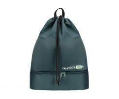 Рюкзак спортивний Cool For School 46х35х18 см зелений (CF86599-04)