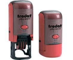 Датер Trodat Рrinty з вільним полем 19 мм шрифт 2.8 мм пластиковий червоний (46119)