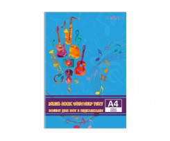 Зошит для нот Cool for school А4 12 аркушів (CF23012-01)