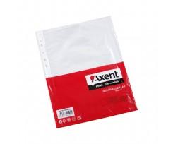 Файл Axent А4+, глянцевий, 30мкм, 100 штук (2007-00-a)