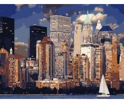 Живопис за номерами ArtStory Вечір у Нью-Йорку 50х65 см асорті (AS0827)