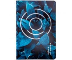 Блокнот Axent Colors of Nature А5 60 аркушів клітинка синій (8453-02-A)