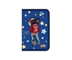 Папка Cool For School Style на блискавці асорті (CF32017)