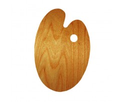 Палітра дерев'яна ROSA Gallery  30х40см.,овальна (94164103)