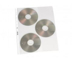 Конверт BIURFOL, для 3 CD, ПВХ, прозорий (ET-19)