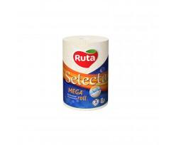 Рушники Ruta Selecta Mega roll 115х225 мм 3-х шаровий білий (rt.45643)