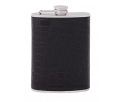 Фляга з нержавіючої сталі Optima Cabinet  240мл, чорний (O51666)