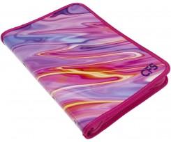 Папка Cool For School Silk А4 на блискавці асорті (CF32026)