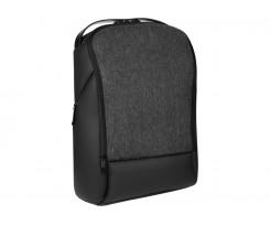 Рюкзак діловий Optima 43х31х18 см, 16-25 л, поліестер, чорний (O97437-01)