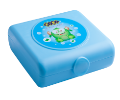 Контейнер для їжі ZiBi 138*147*55мм, 0.4 л, блакитний (ZB.3053-14)