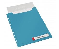 Файл Leitz Cosy А4 150 аркушів 3 штуки синій (4668-00-61)