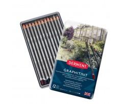 Набір з 12-ти олівців Derwent 2.9 мм асорті (700802)