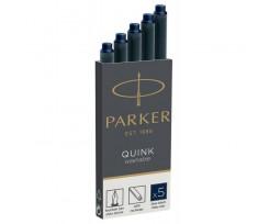Картриджі Parker Quink 5 штук темно-синій (11 410BLB)