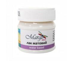 Лак Margo матовий на водній основі Matte 50 мл (005249)
