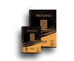 Альбом для ескізів Fabriano Schizzi Sketch А5 60 аркушів 90 г/м2 (16F5210)