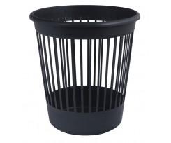 Корзина для паперу Арніка 10 літрів пластик чорний (82061)