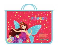 Портфель на блискавці Cool For School Princess А4 пластиковий (CF30001-05)