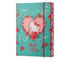 Папка для зошитів Kite Hello Kitty, на гумці, В5, картон (hk19-210)