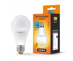 Лампа Videx LED 15 W E27 3000 K 220 V (VL-A65e-15273)