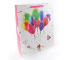 Пакет подарунковий Angel Gifts 180х240х85 мм асорті (Я18866_AG91327)