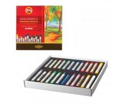 Крейда-пастель Koh-i-Noor Gioconda 24 кольори асорті (8354024001ks)